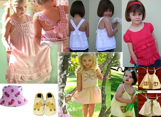 How to choose clothes for young girls