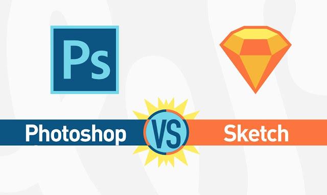ما الفرق بين photoshop و sketch ؟ أيهما الافضل ؟