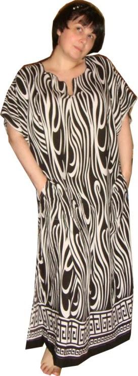 Платье в пол на полную женщину с выкройками