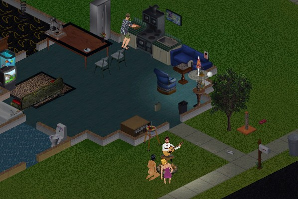The Sims - Evening Party Screenshot