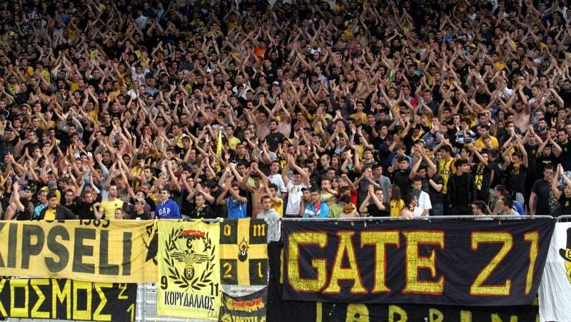 Aek Soccer Fans Ring Of Fire