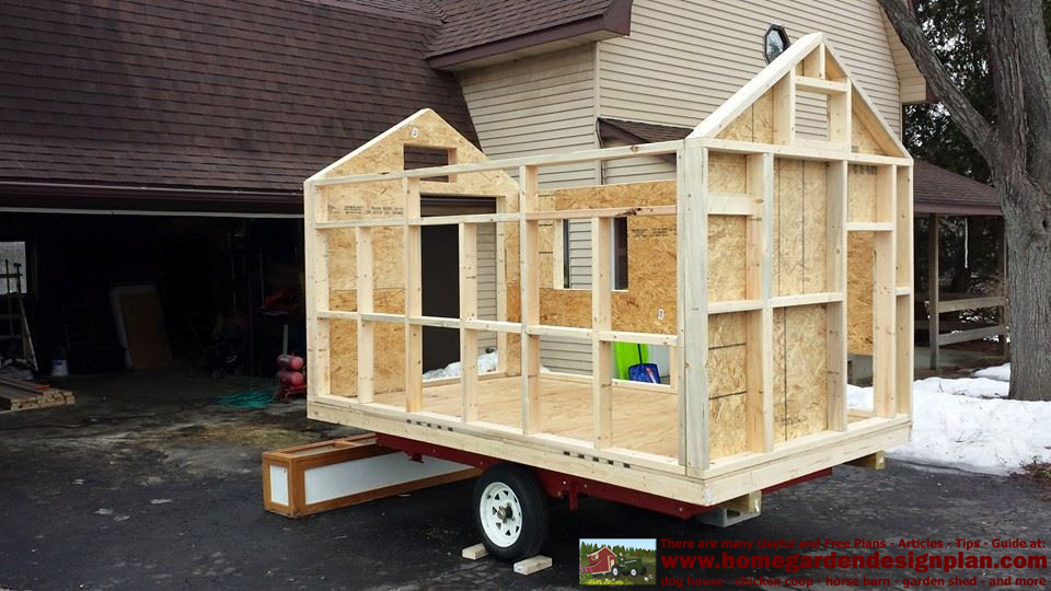 home garden plans: T310 - Buiing Success - Chicken Trailer ...