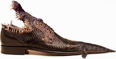 cerita anekdot sepatu buaya