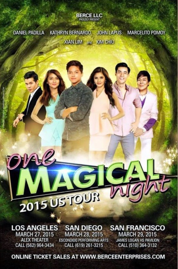 KathNiel and KimXi join forces to form One Magical Night