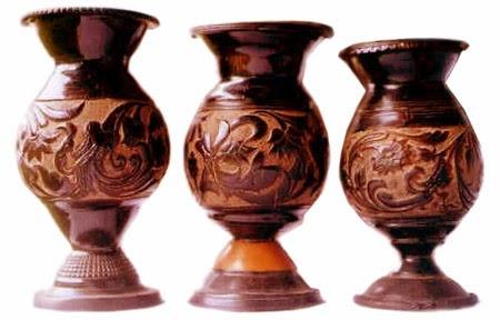 Handicrafts Of India Coconut Shell Fiber Stem Craft Of Andaman