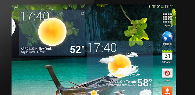 Weather Animated Widgets v6.30 APK