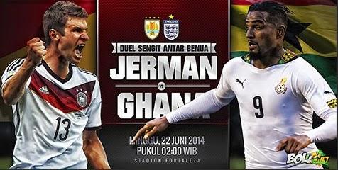 Ghana Imbangi Permainan Jerman dengan Saling Serang Skor 2-2