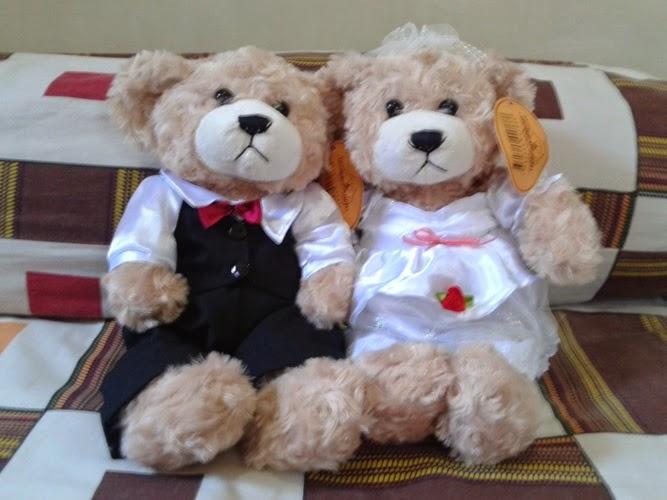 Gambar boneka teddy bear menggemaskan