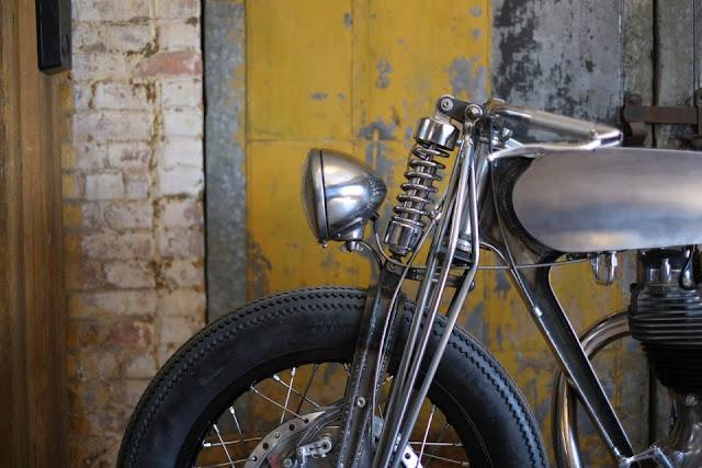 1996 Royal Enfield Bullet 500 | Royal Enfield customs | Royal Enfield Bullet custom | custom Royal Enfield Bullet | Hazan Motorworks |  1996 Royal Enfield Bullet 500 by Hazan Motorworks
