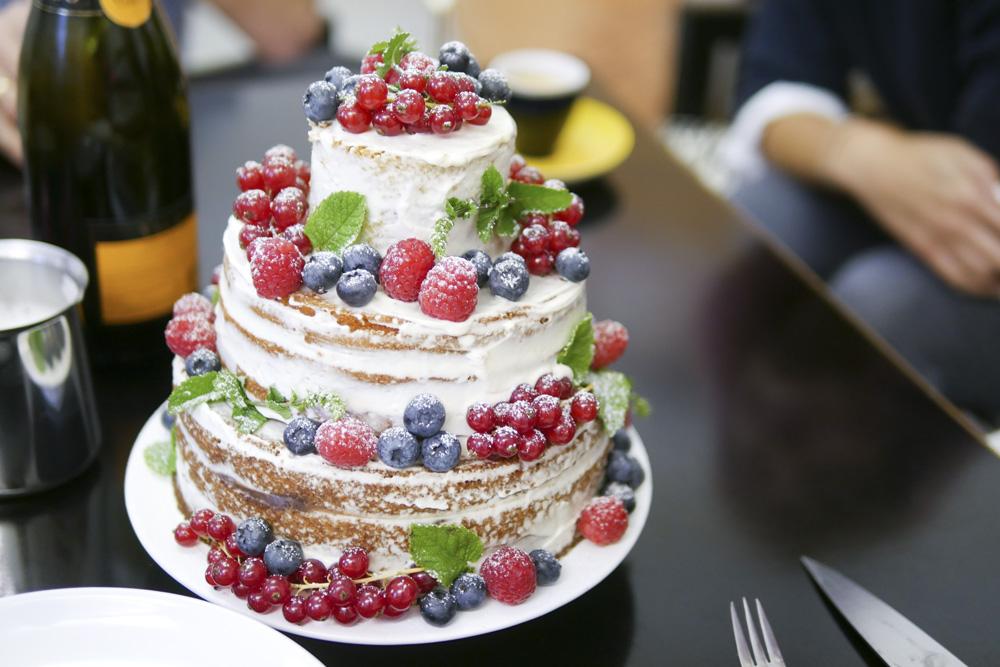 Krebsen Und Aluette Die Hochzeitstorte