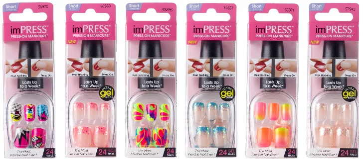 imPRESS Press-On Manicure by Broadway Nails Neon ...