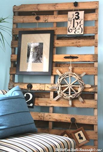 Diy Wood Pallet Decor Ideas Coastal Decor Ideas And Interior Design Inspiration Images