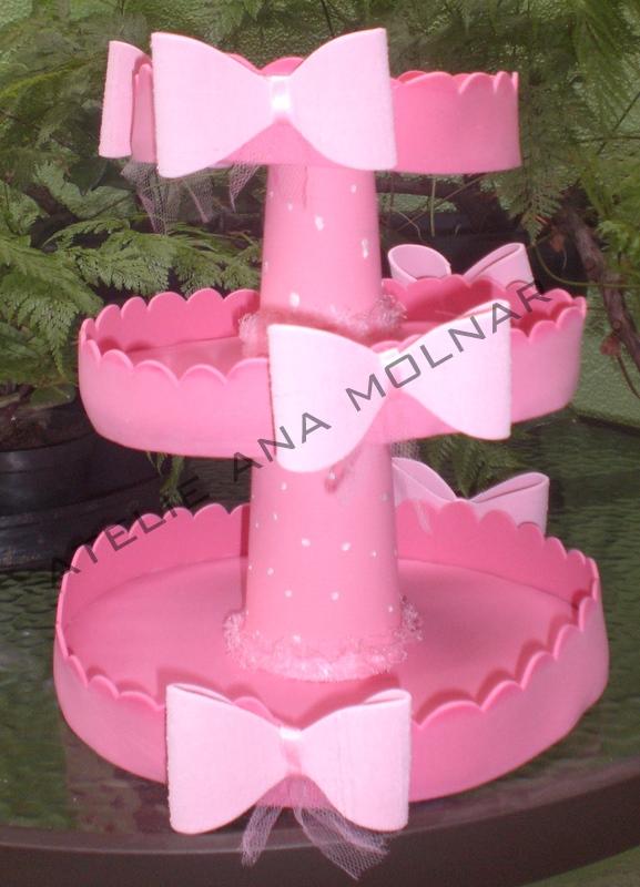 Baleiro Barbie Bailarina   Confeccionado   EVA  La  Os  Fitas