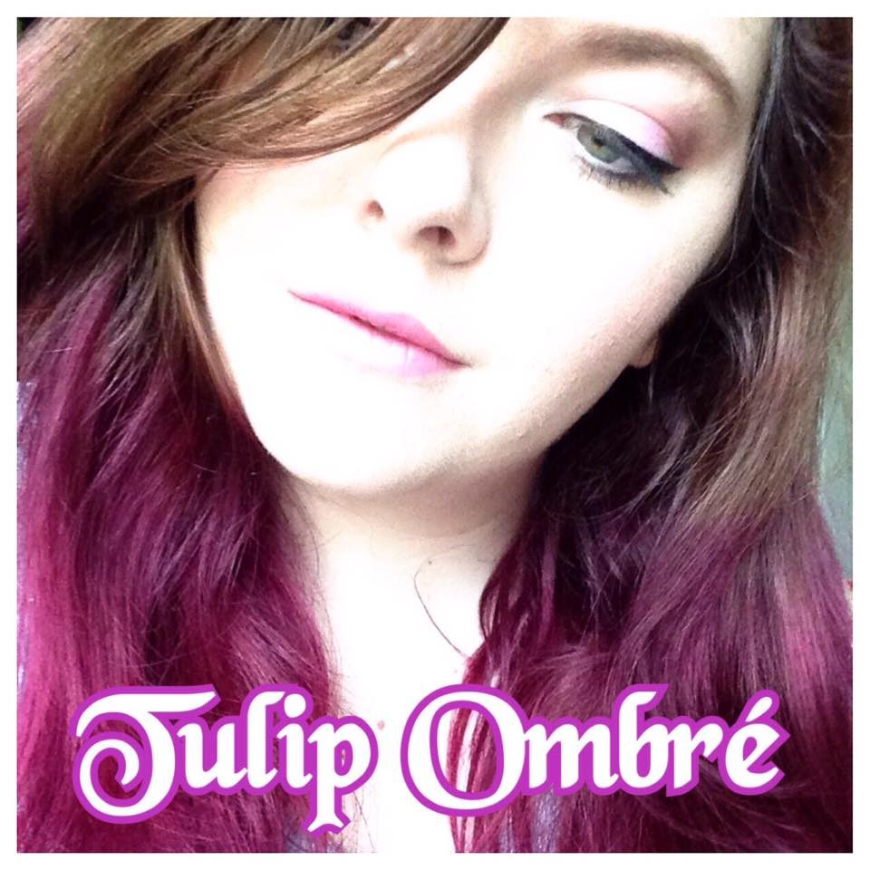 Happy Thoughts Forget Me Nots How I Dyed My Hair Tulip Ombre