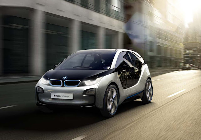 Electrocar BMW i3 picture