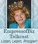 Jo Ann R.Forrester  Empress of Biz  Award Winning Business Champion