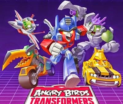 Akhirnya, Angrybird Tranformer Sudah Rilis Untuk Android | Download Segera!