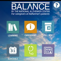 Screenshot for the Balance Alzheimer's App