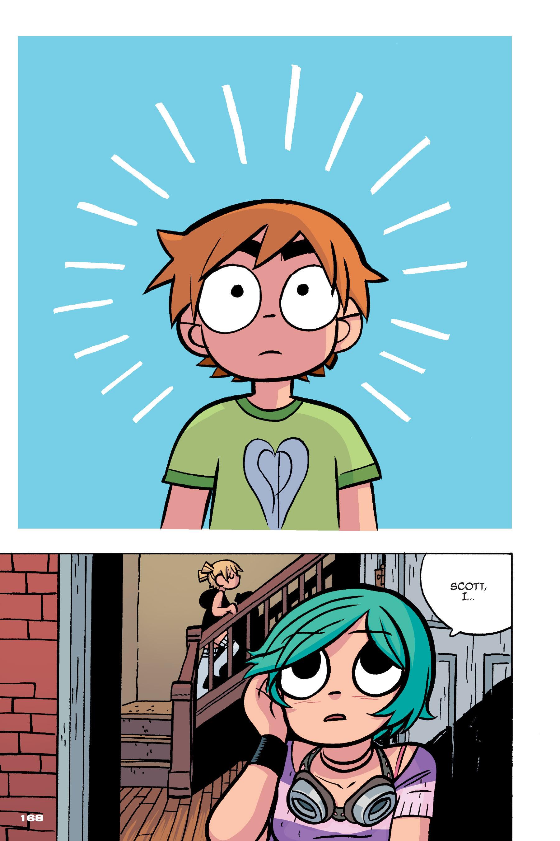 Read online Scott Pilgrim comic -  Issue #4 - 165