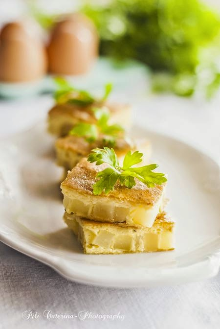 Frittata light con patate