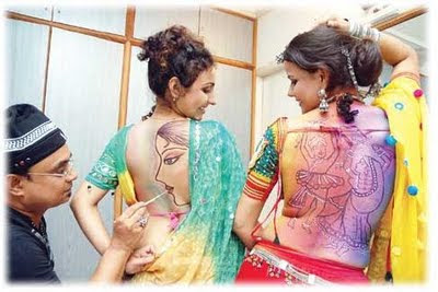 Navratri Beautiful Tattoos Pictures & Design