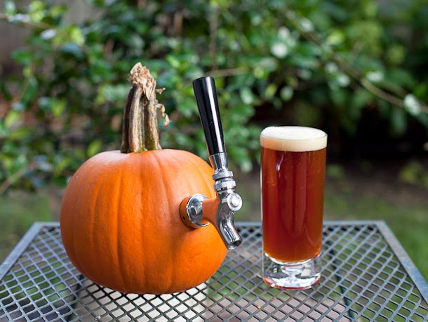 Men with pretentious tongues taste pumpkin beers
