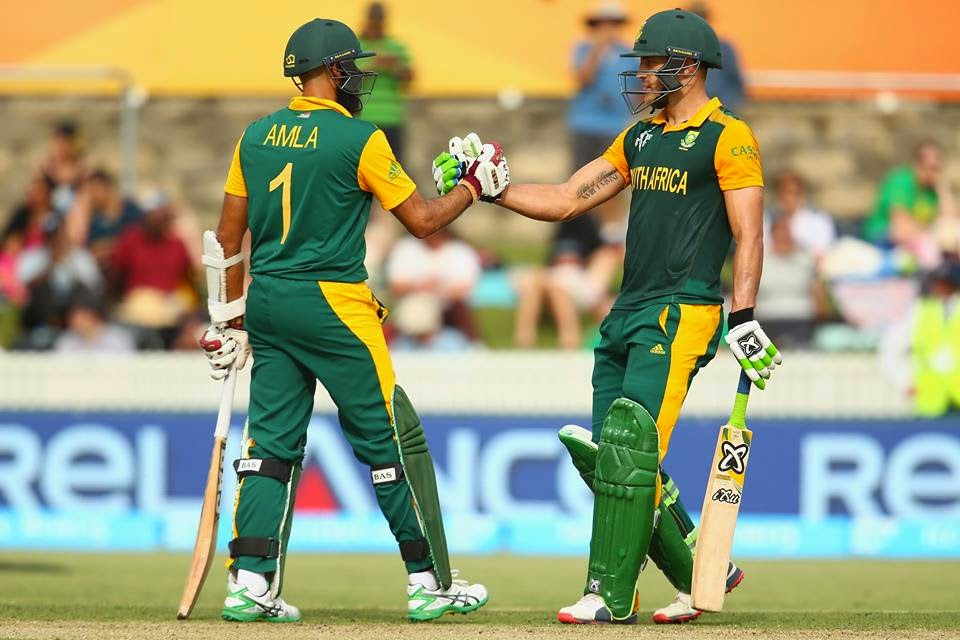 South Africa scored 411 runs