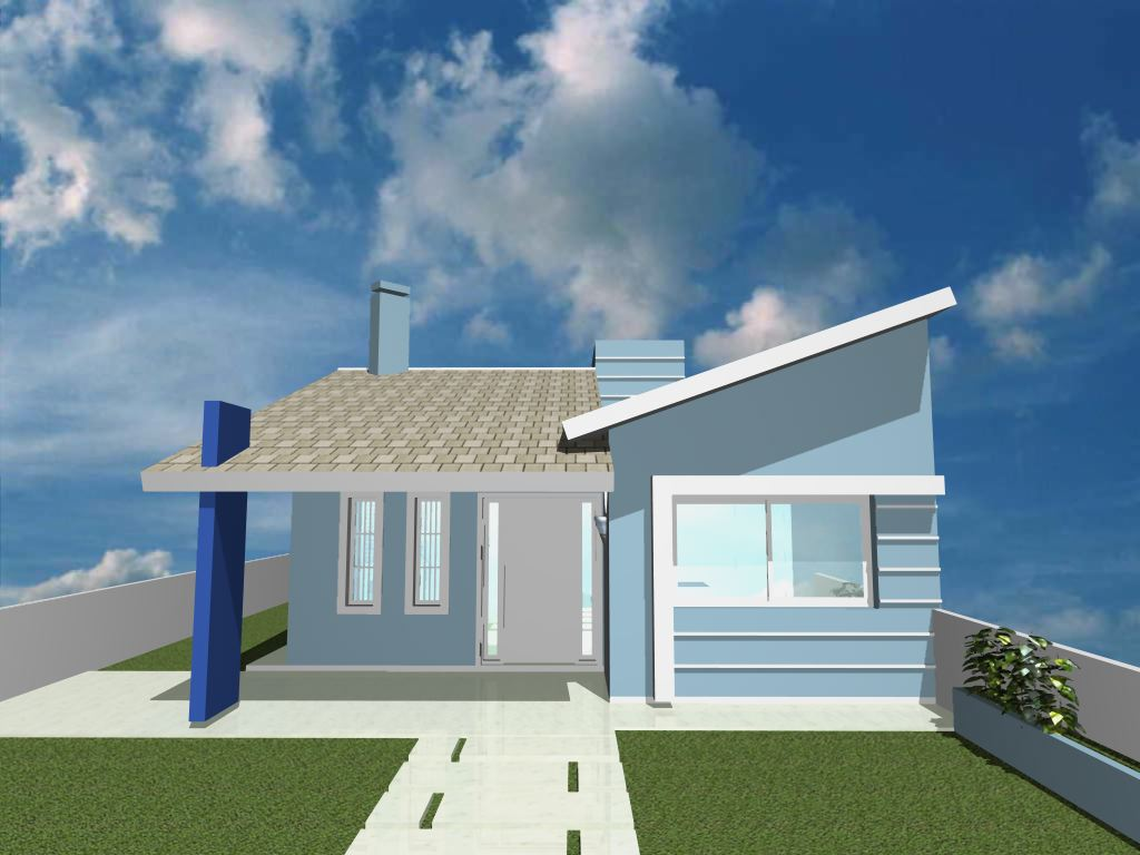 Arv constru oes novos modelos de casas for Modelo de fachadas de viviendas