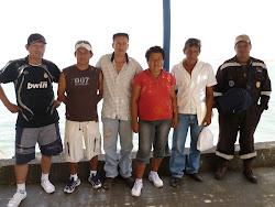 Trabajadores en el Puerto de Casma.