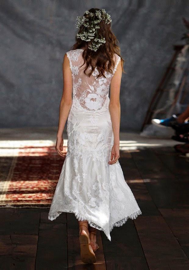 Claire Pettibone 2015 beach paradise short bridal1 - bridal dresses for a beach wedding