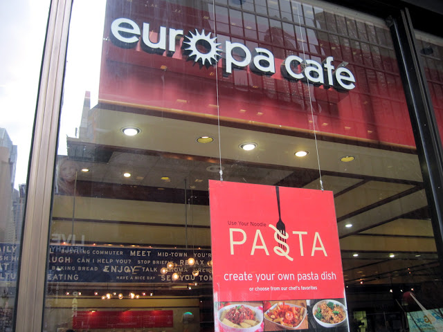 Eruopa a father from Europe of course is yet another patriarchal spot for dining in New York