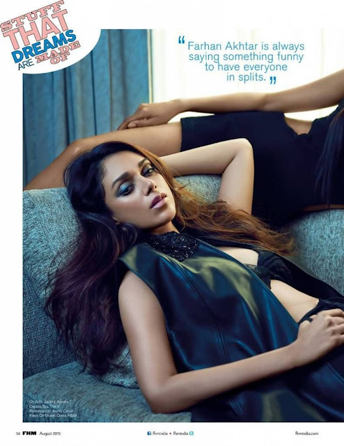 Actress Aditi Rao Hydari Sizzles on FHM Magazine August 2015