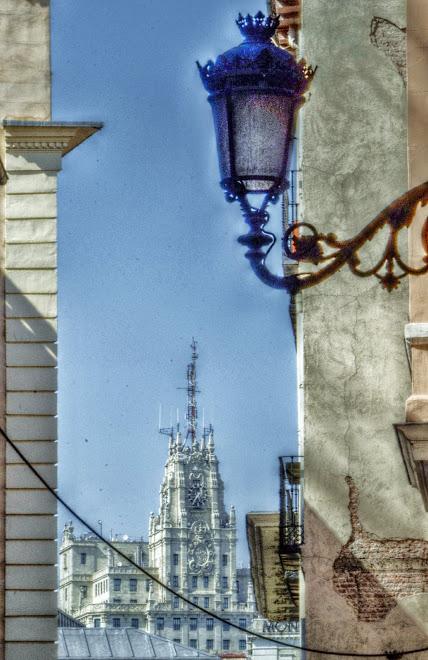 EDIFICIO DE TELEFONICA EN MADRID