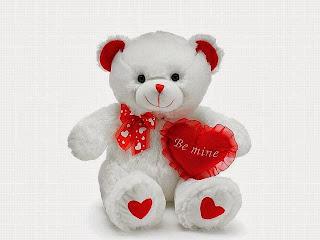 Boneka beruang love 26