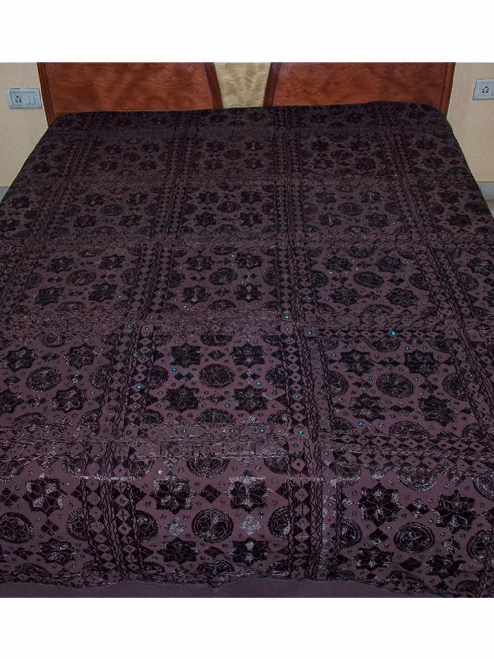 Handemade Sanganeri Bed Sheets Coverlets Bedspread
