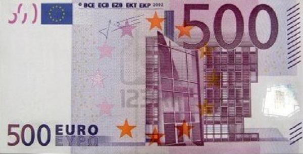 Θα συλλαμβάνονται όσοι κυκλοφορούν με χαρτονομίσματα των 500 ευρώ!
