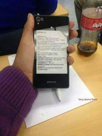 Inilah spesifikasi lengkap Sony Xperia Z3