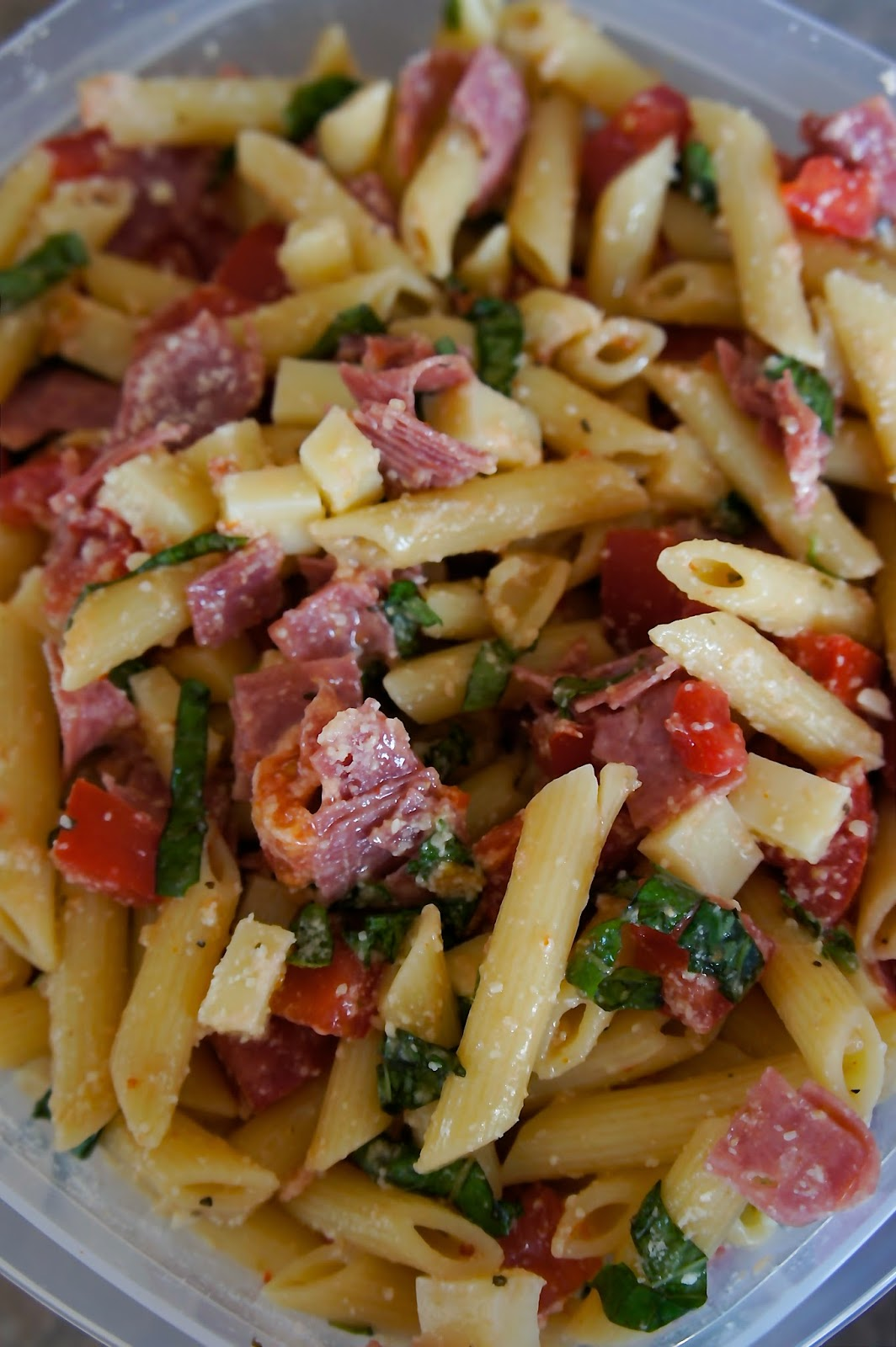 Pizza Pasta Salad: Savory Sweet and Satisfying