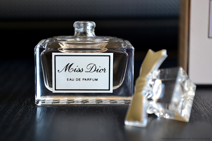 Miss Dior Eau de Parfum designer fragrances perfumes for women blog Review