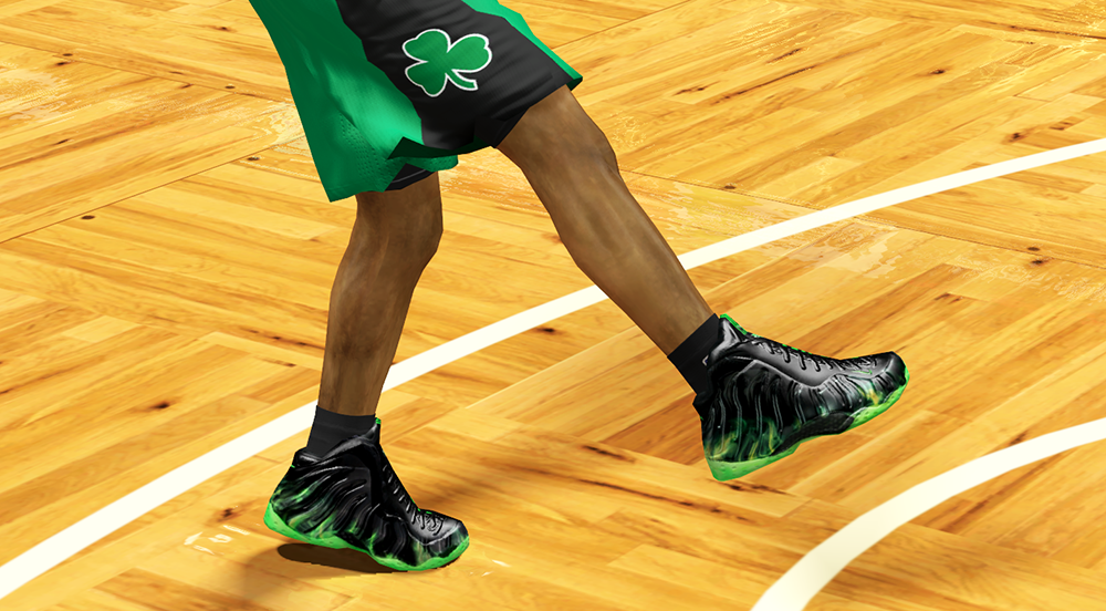 Paranorman Nike NBA 2K14 Shoes Patch