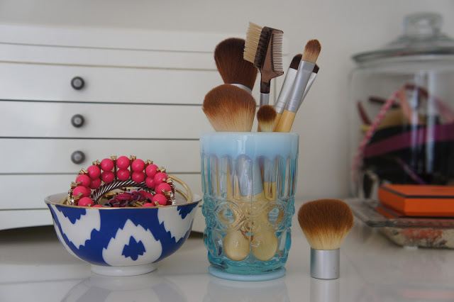 Make-up brushes from Eco Tools