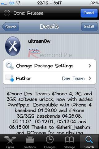 déverrouiller iphone 3gs