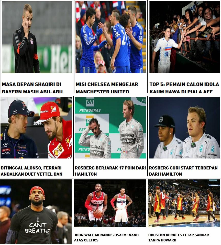 portal berita bola dan olahraga