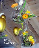 Åpent Atelier fram til 8. april. Velkommen til Vår- og Påskeinspirasjon!