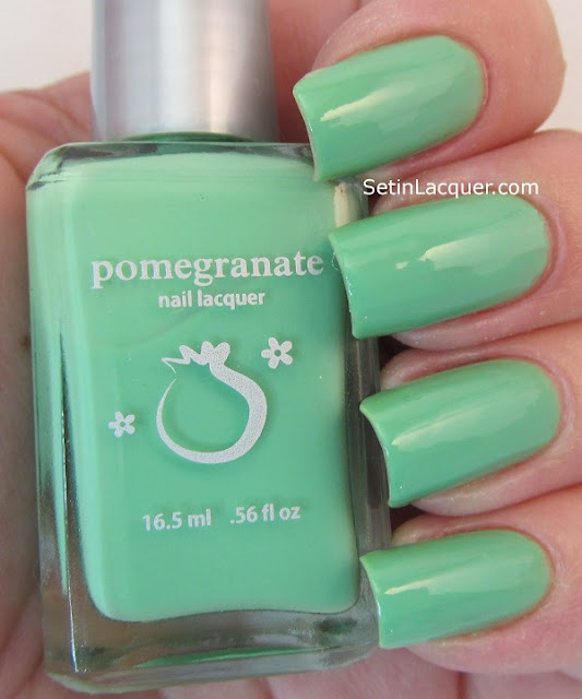 Pomegranate Lacquer Enchanted Lagoon