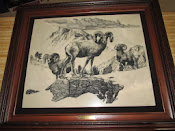 Original Etched in Marble P.B. Wolfe Sovereigns of the High Country Limited