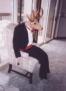 Picture of deer in tuxedo