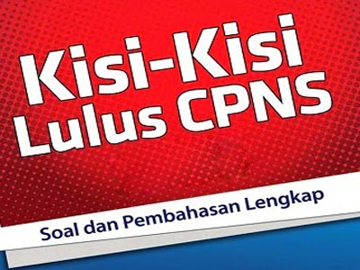 Ini Dia Contekan Kisi Kisi Tkd Cpns 2014 Manado Top News