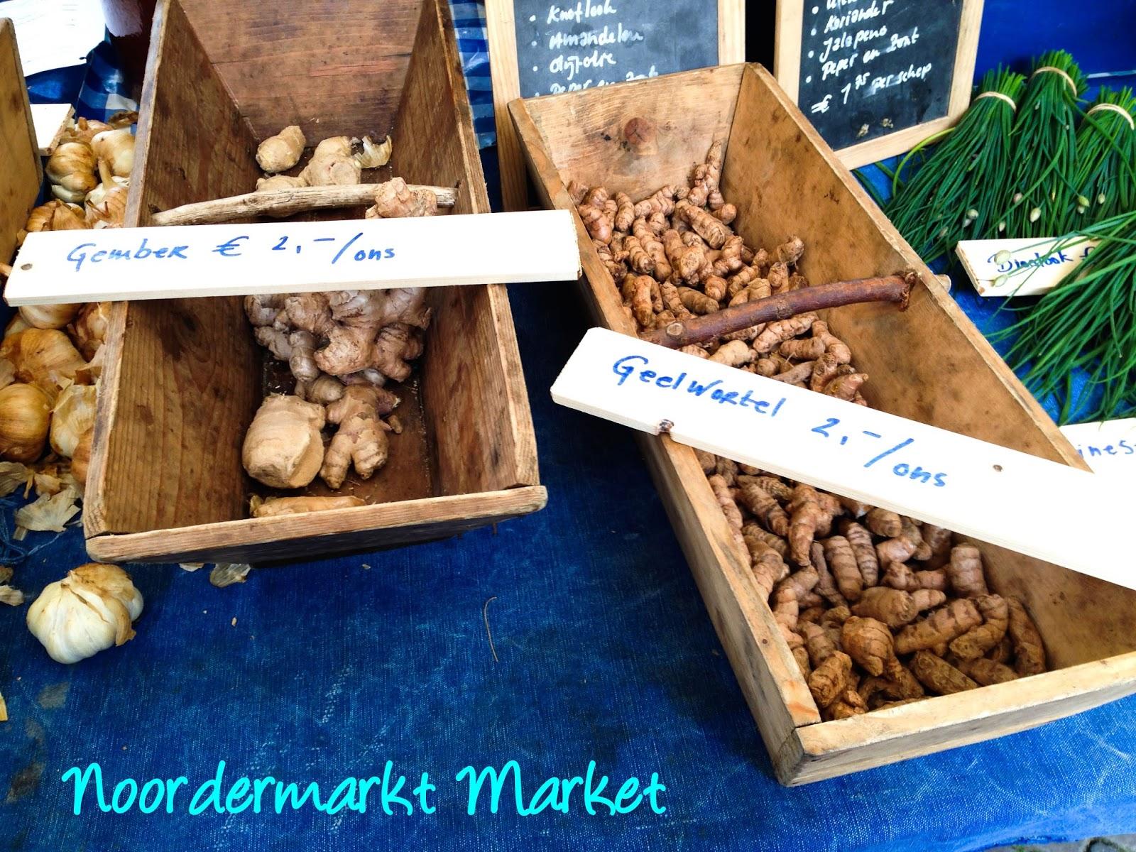 Amsterdam Noordermarkt Market Jordaan