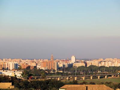 Sevilla - Contaminación atmosférica - 14-11-2015